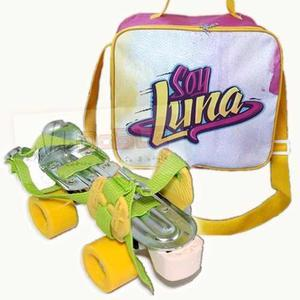 Combo Patines Extensibles Leccese Teen + Bolso Soy Luna