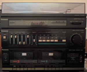 Equipo de audio - Equipo de musica (con parlantes)