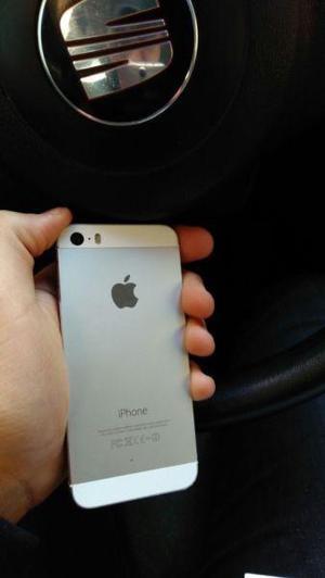 Iphone 5s 16gb blanco en muy buen estado