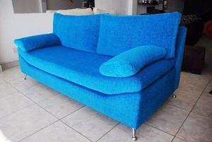 Sillon Sofa Dos Cuerpos Todo En Chenille