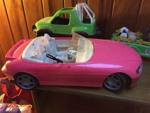Auto De Barbie Automatico Se Desplaza Solo
