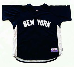 Casaca Baseball Majestic New York Yankees Hombre Talle Xl