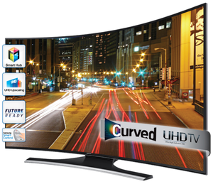 Tv Led Uhd 55 Samsung Un55ku Smart 4k Curvo