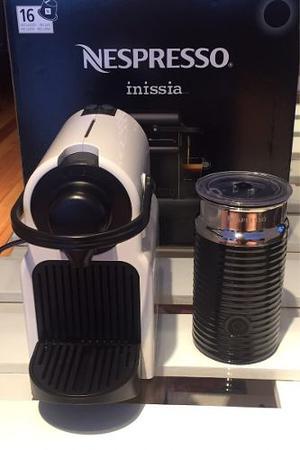 Nespresso Inissia + Aeroccino - Oportunidad!!!