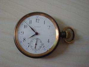 Antiguo Reloj De Bolsillo Suizo Roundly