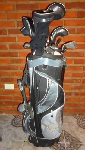 Juego Completo De Golf Golden Bear Palos Y Bolsa C/ Trípode