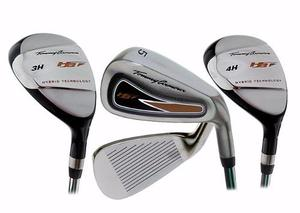 Set Hierros Hibridos Tommy Armour Hbt Golf Traidos De Usa