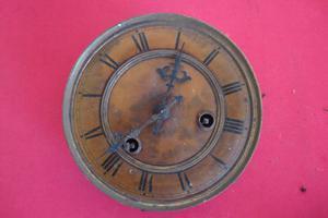 Maquina De Reloj De Pendulo Antiguo Para Reparar O Respuesto