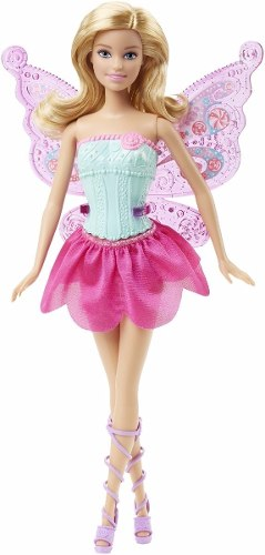 Barbie Fairy Tale Dress Up Gif Set 2 En 1 Original Mattel