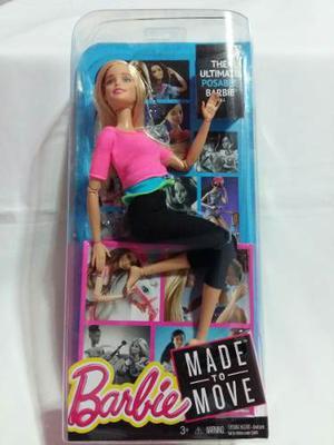 Barbie Made To Move Original Nueva En Stock
