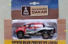 Colección Dakar Toyota Hilux Ptrototype Escala 1:43