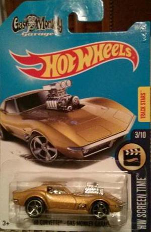 Hot Wheels `68 Corvette - Gas Monkey Garage