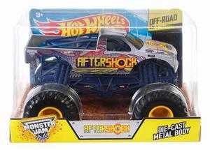 Hot Wheels Monster Jam Escala 1:24 - Aftershock - Nuevos!!!