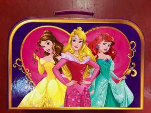 Set De Cocina Valija Disney Princesas Original