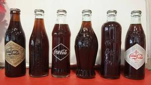 Colección De Botellas De Coca-cola