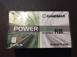 Fuente Gamemax Gp- Plus Bronze 500w