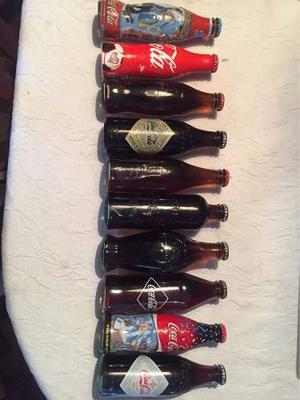 Lote De Botellitas De Coca Cola.