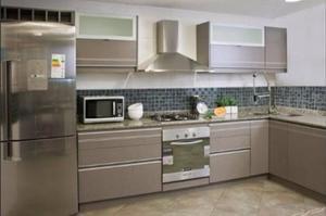 Mueble De Cocina / Alacena De Vidrio Pintado