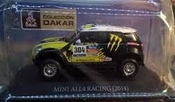 Auto De Colección Dakar Mini All4 Escala 1:43 Aprox 10 Cms