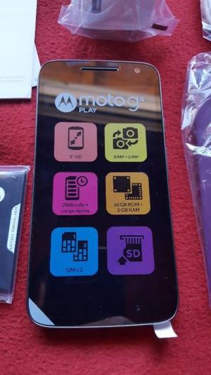 Moto G4 Play 4g Nuevo Libre de Fabrica