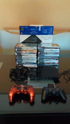 Playstation 2 Slim Chipeada (retira Por Saavedra, Cap. Fed.)