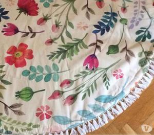 Pintura sobre tela cortinas manteles rosario posot class for Manteles de tela