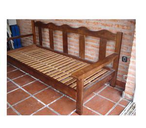 Sill n algarrobo tres cuerpos buenos aires posot class for Vendo sillon cama