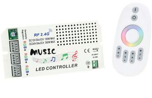 Controladora Audioritmica Tira De Led Rgb  Rf Touch