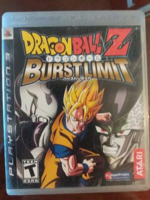 Dragon Ball Z Burst Limit Ps 3