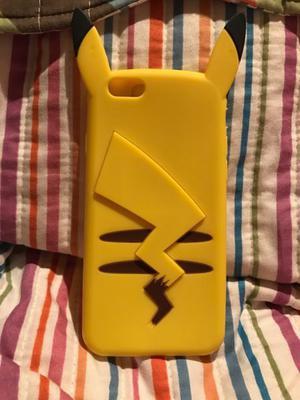 Funda Pikachu silicona iPhone 6/6s