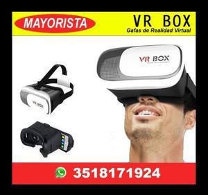 VR BOX Gafas Realidad Virtual / Mayorista Importador