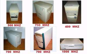 Varios Cpu s pentium 3 con Windows xp