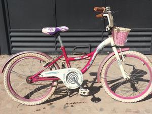 Bicicleta Raleigh de niña rodado 20