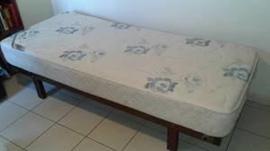 Funda cubrecolchon 1 plaza con cierre posot class for Medidas de cama de una plaza