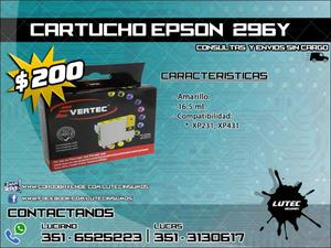 Cartucho alternativo EPSON 296 amarillo