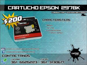 Cartucho alternativo EPSON 297 negro