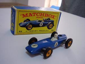 Matchbox Brm F1 Racing Car N* 52