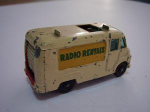 Matchbox Van Radio Rentals, Num.62