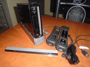 Nintendo Wii Negra Impecable