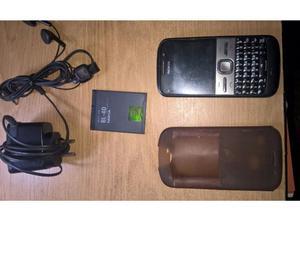 Vendo Celular Nokia E5 completo en su respectiva caja.