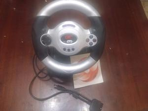 Vendo Volante con pedal para ps1 ps2 y pc
