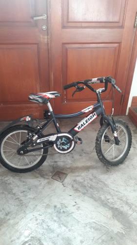 Bicicleta Raleigh Mxr Rodado 16aluminio Excelente Eatado