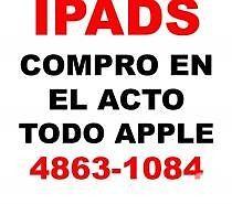 COMPRO TODO APPLE EN EL ACTO(IPADS MACBOOKS IPHONES)