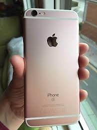 se vende iphone 6s de 64 gb impecable