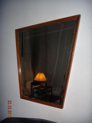 Espejo de Cristal Biselado con Marco IRREGULAR de PETIRIBÍ