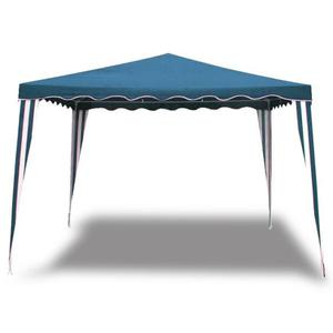 Cobertor gazebo 4x3 de tela azul posot class for Gazebo plegable easy
