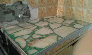 Mesadas de mármol