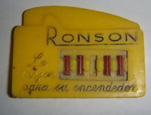 Piedras Para Encendedor - RONSON - U S A - Cuatro Piedras