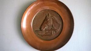 Platos de cobre para colgar