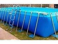 picina de lona marca pelopincho usado 30 mil litros de agua